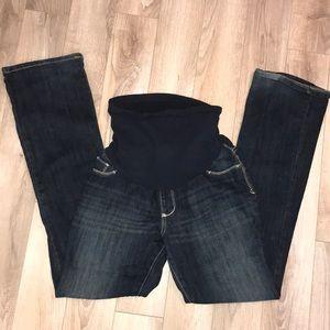 Maternity boot cut jeans